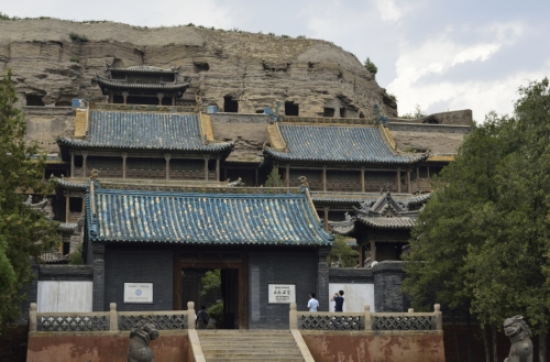 Stone Buddha Temple, built in Qing Dynasty