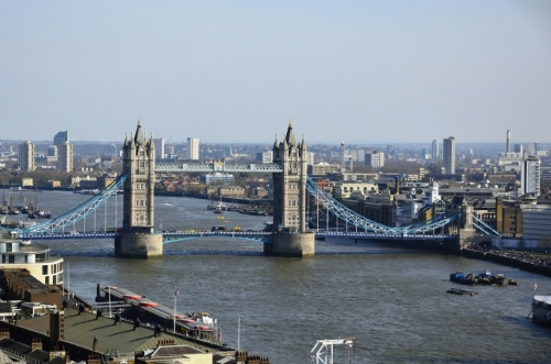 Tower Bridge viewed from the Monument