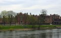 Hampton Court Palace by the River Thames