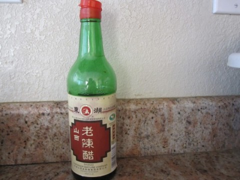 Shan-Xi style old aged Chinese black vinegar