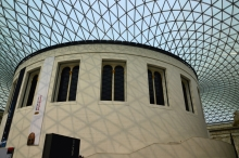 Propped British Museum extension